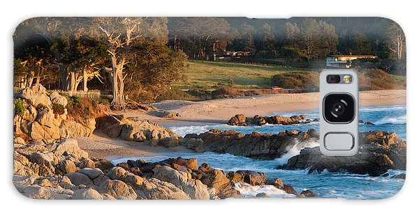Monastery Beach In Carmel California Galaxy Case