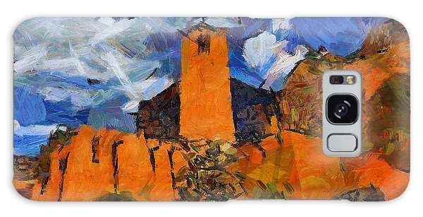 Monastery In The Clouds Galaxy Case by Carrie OBrien Sibley