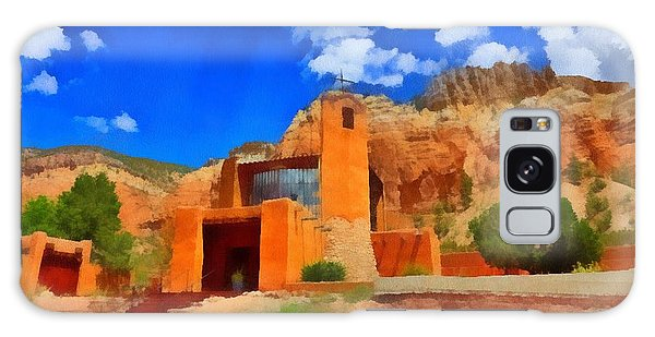 Monastery  In The Mountains Galaxy Case by Carrie OBrien Sibley