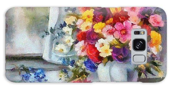Monet Floral Edged Galaxy Case