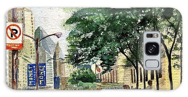 Art Institute Galaxy Case - Monet In Chicago by Marilyn Smith