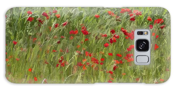 Monet Poppies IIi Galaxy Case