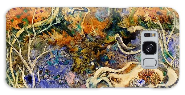 Monet Under Water Galaxy Case
