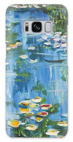 Monet Water Lilies Galaxy Case