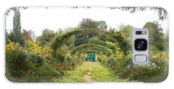Monet's Garden Giverny Galaxy Case