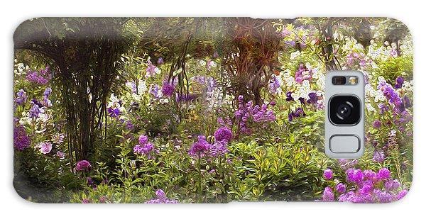 Monet's Garden - Impression Galaxy Case