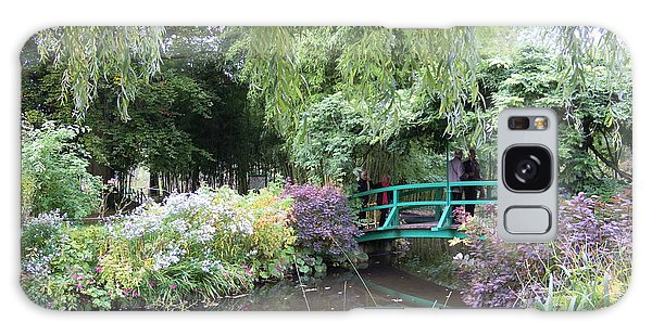 Monet's Japanese Bridge Galaxy Case by Ellen Meakin