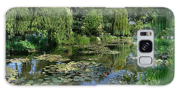 Monet's Lily Pond At Giverny Galaxy Case