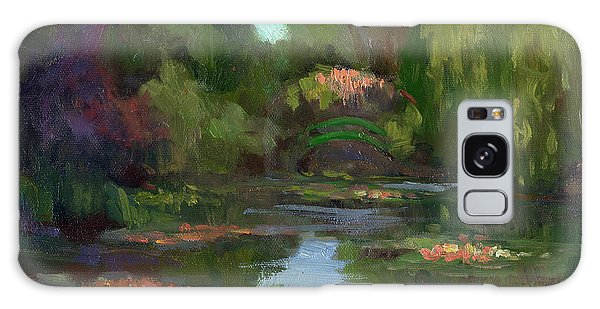 Sea Lily Galaxy Case - Monet's Water Lily Pond by Diane McClary