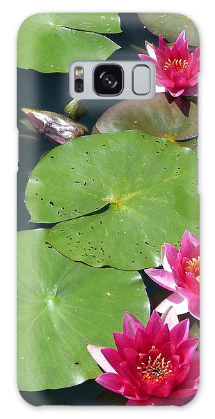 Monet's Waterlilies IIi Galaxy Case by Marguerita Tan