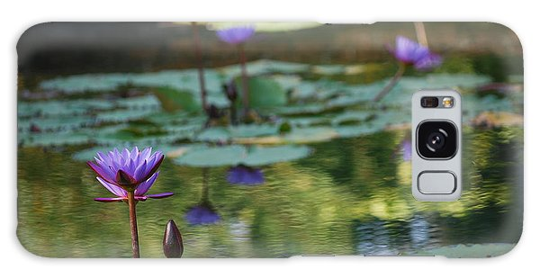Monet's Waterlily Pond Number Two Galaxy Case