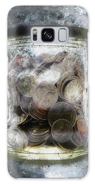 Anguish Galaxy Case - Money Frozen In A Jar by Skip Nall