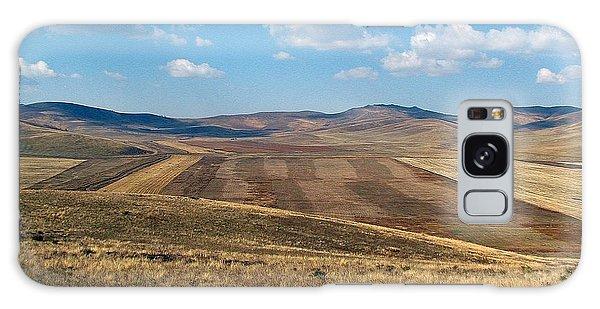 Mongolian Fields Galaxy Case