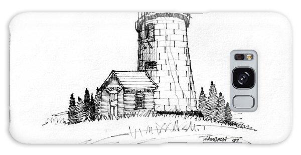 Monhegan Lighthouse 1987 Galaxy Case