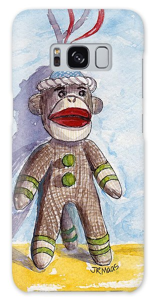 Monkey See Monkey Do Galaxy Case