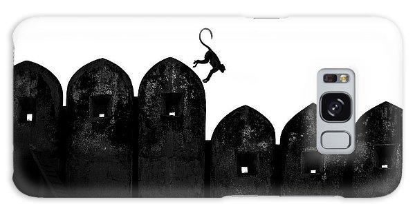 Jump Galaxy Case - Monkey by Yasemin Bakan