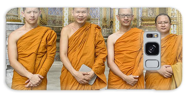 Monks At The Grand Palace Galaxy Case