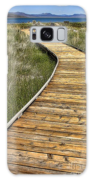 Mono Lake Boardwalk 2 Galaxy Case