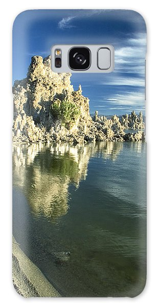 Mono Lake Shoreline Rock Galaxy Case