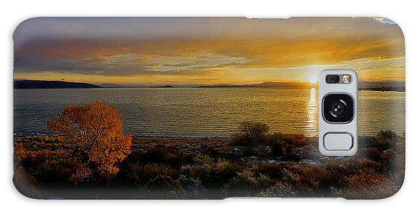 Mono Lake Sunrise Galaxy Case