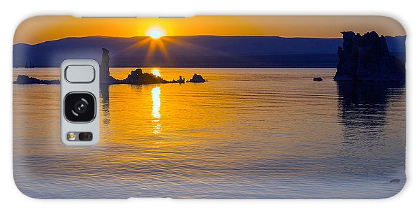 Mono Lake Sunrise Galaxy Case