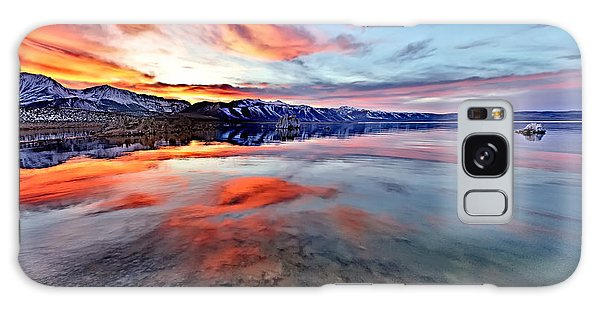 Mono Lake Sunset 2 Galaxy Case