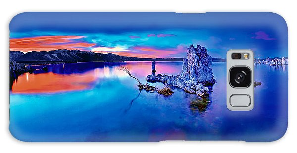 Mono Lake Sunset Galaxy Case