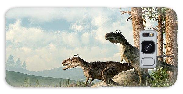 Monolophosaurs On The Hunt Galaxy Case
