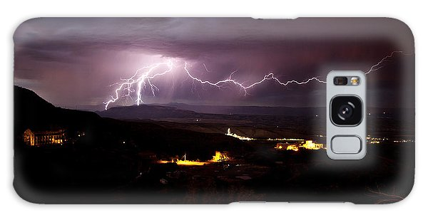 Monsoon Lightning In Jerome Az Galaxy Case