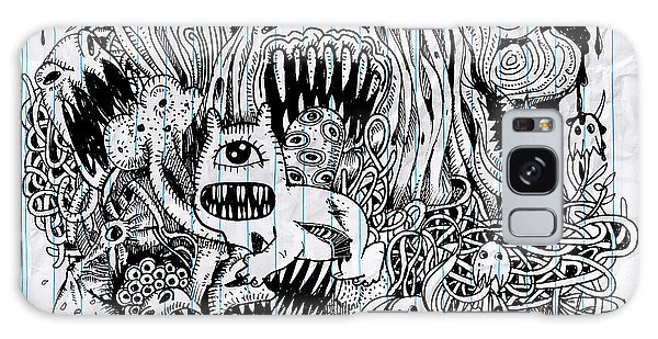 Event Galaxy Case - Monster Drawing.hand Drawn Monster With by 9george