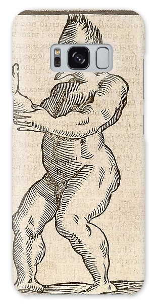 Traits Galaxy Case - Monstrous Human Figure by Middle Temple Library