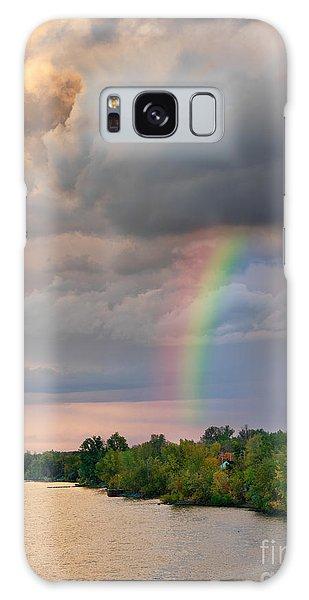 Mont Saint Hilaire Quebec Canada Rainbow Galaxy Case