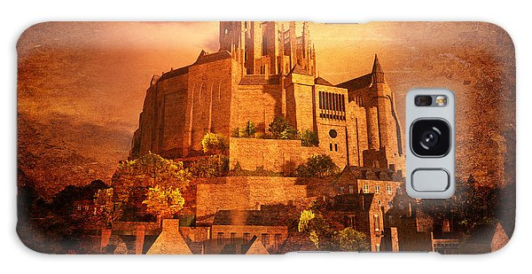 Mont Saint-michel Galaxy Case