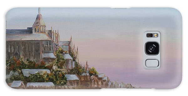 Mont St. Michel Galaxy Case