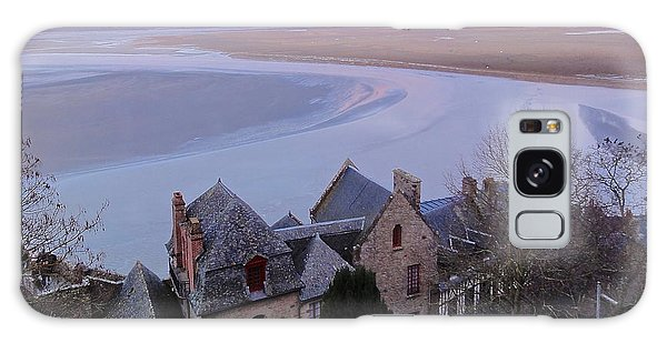 Mont St Michel Tower View Galaxy Case