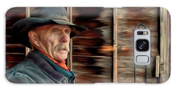 Montana Cowboy Galaxy Case by Michael Pickett