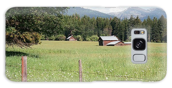Montana Homestead Galaxy Case by Vinnie Oakes