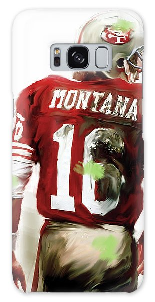 Montana Galaxy Case - Montana II  Joe Montana by Iconic Images Art Gallery David Pucciarelli