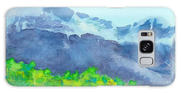 Montana Mountain Mist Galaxy Case
