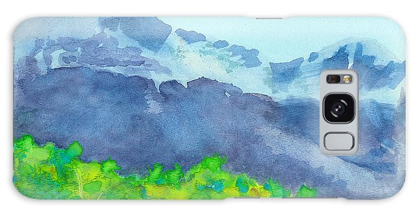 Montana Mountain Mist Galaxy Case by C Sitton