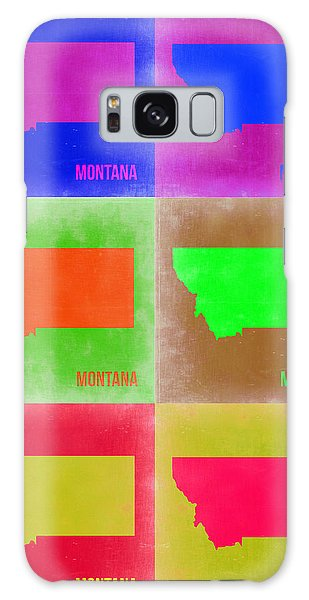 Florida Galaxy Case - Montana Pop Art Map 2 by Naxart Studio
