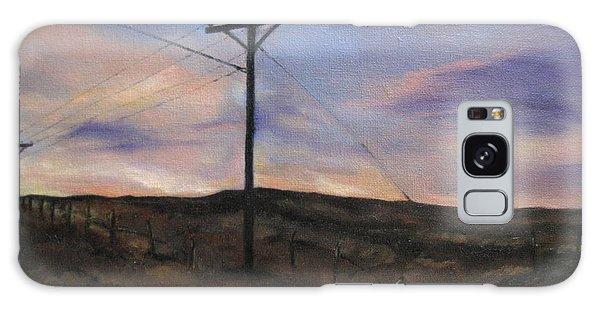 Montana Sky Galaxy Case by Lindsay Frost