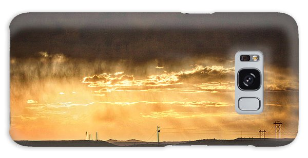 Montana Sky Storm Approach Galaxy Case