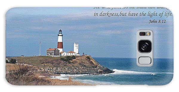 Montauk Lighthouse/camp Hero/inspirational Galaxy Case