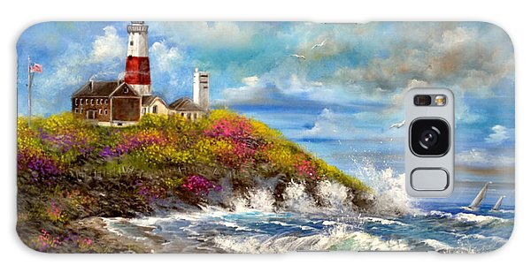 Montauk Lighthouse Galaxy Case