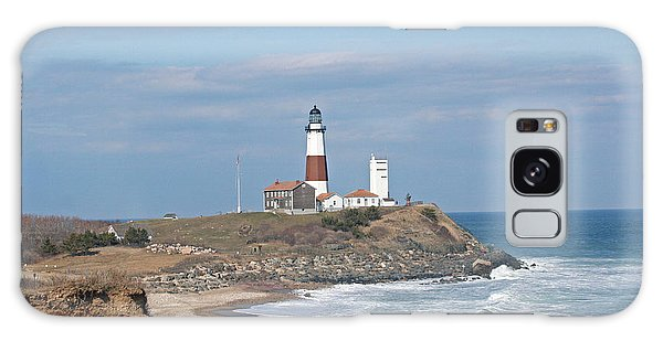 Montauk Lighthouse View From Camp Hero Galaxy Case