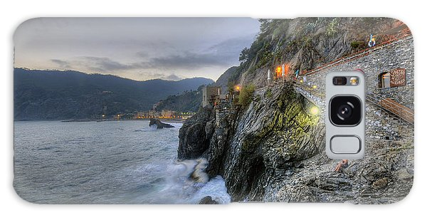 Monterosso At Sunset Galaxy Case