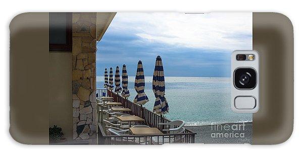 Monterosso Outdoor Cafe Galaxy Case