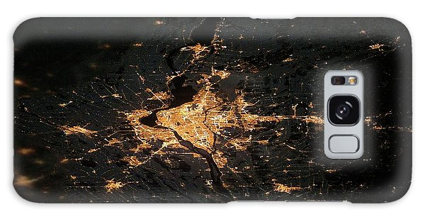 Quebec City Galaxy Case - Montreal At Night From Space by Nasa/science Photo Library