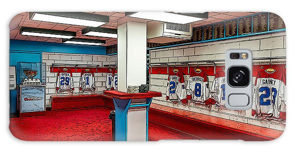 Montreal Canadians Hall Of Fame Locker Room Galaxy Case
